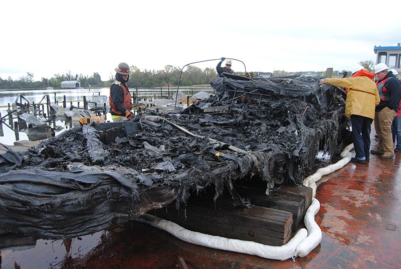 FAEC offers fire investigation services for marine or cargo vessels