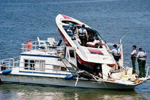 FAEC engineers investigate and report on why accidents involving recreational boats occurred
